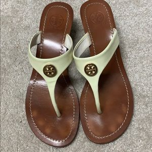 Tory Burch Thongs size 8.5 with heel